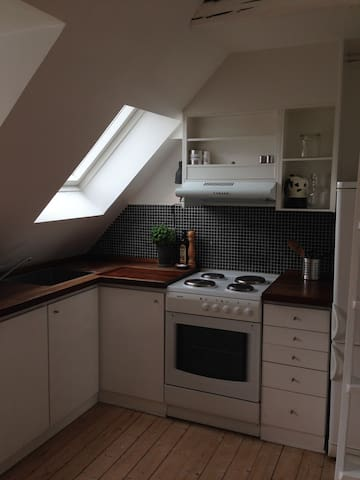 Private loft in charming townhouse
