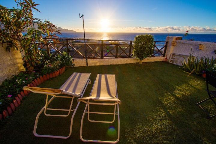 Lujosa casa con Jardin y vistas espectaculares