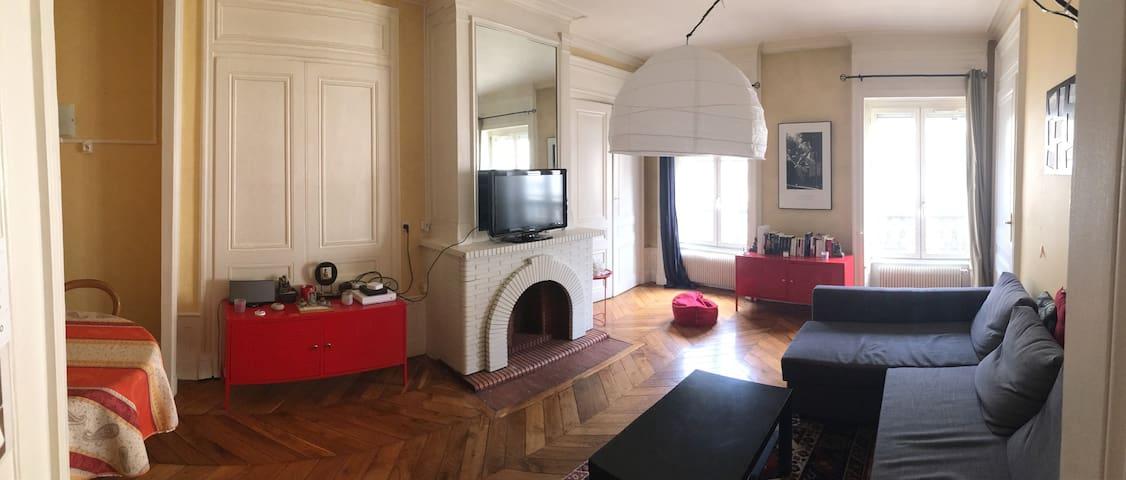 Appartement entier calme en plein centre-ville - Lyon - Appartement