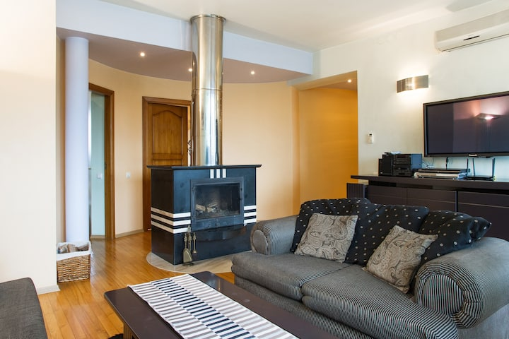 Gedimino penthouse in the heart of Vilnius
