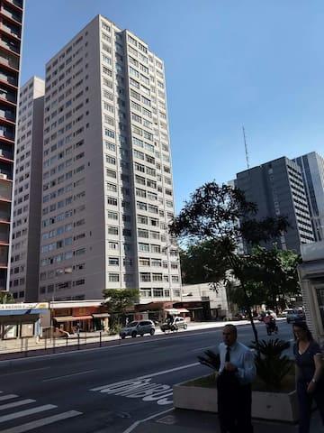 Estúdio 803 confortável no coração da Av. Paulista