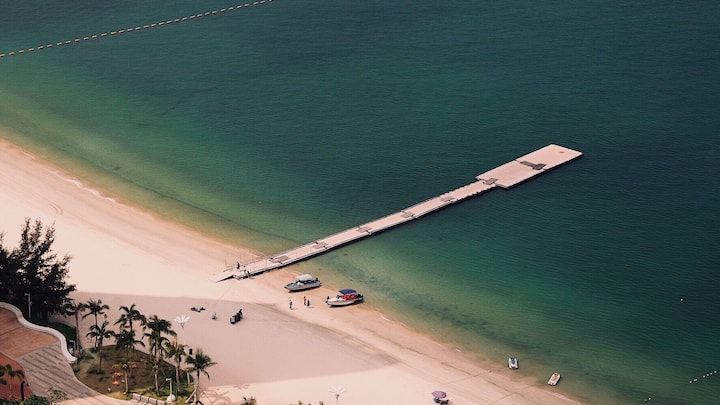 巽寮湾海世界39顶楼豪华海湾景房