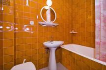 bathroom in each room