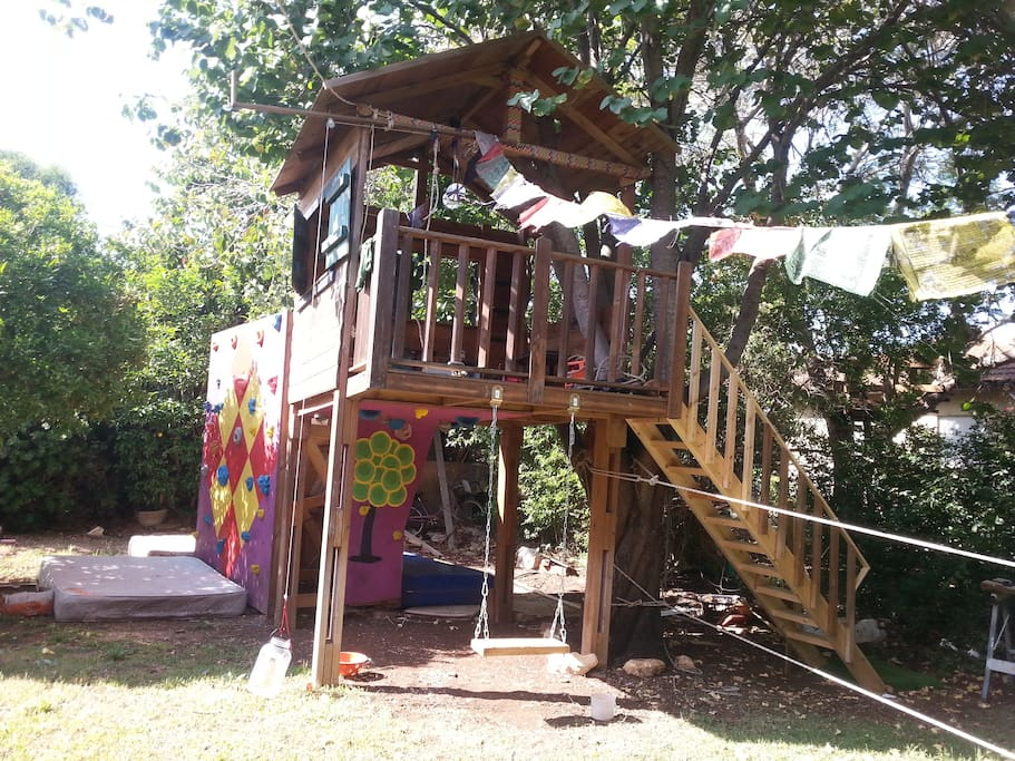 treehouse for the kids