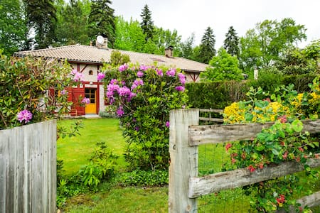 dans authentique maison marensine - Linxe - Bed & Breakfast