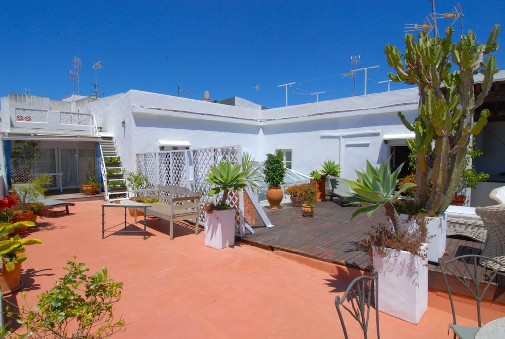 Roof top Penthouse in Riad -  Old town Tarifa