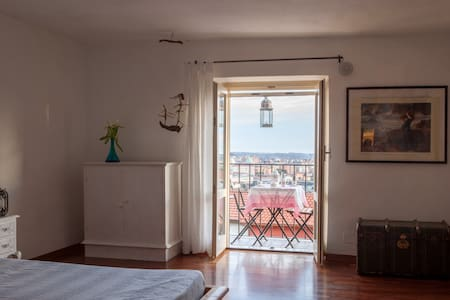 By Carlotta, apartment with sea view in Tuscany - Massa - Leilighet