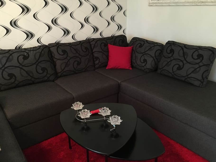 Sofa of the living room.