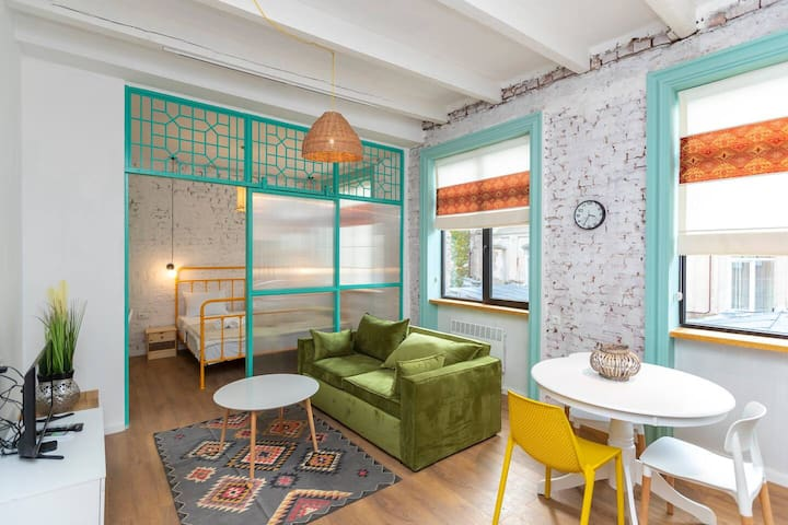 ❈Bright & modern 1BR apt in the heart of the city❈