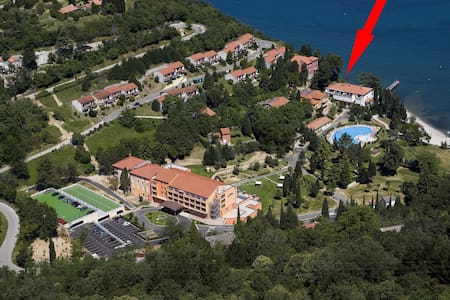 Fall into the waves from the bed, parking, pool - Portorož - Portorose