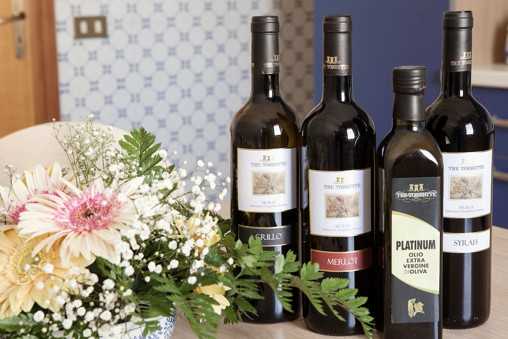 Our Wines and Oil