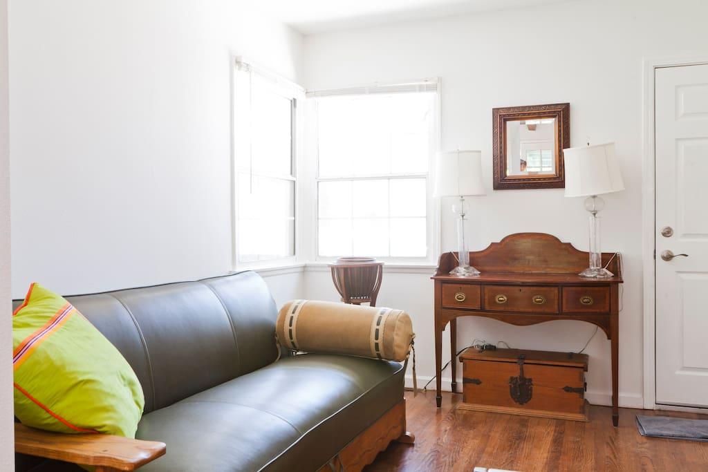 Den with flat screen TV