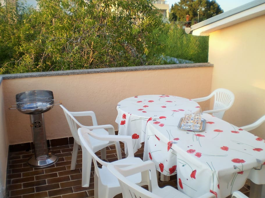 Terrace for relaxe or grill
