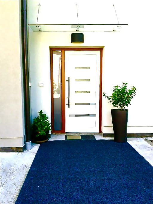 entrance in Villa Val
