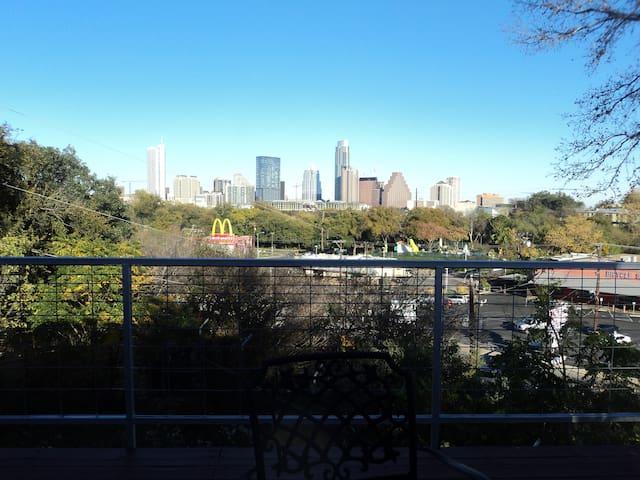 Zilker, Downtown Austin view