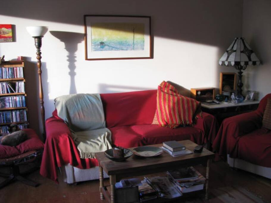 Living room, west light
