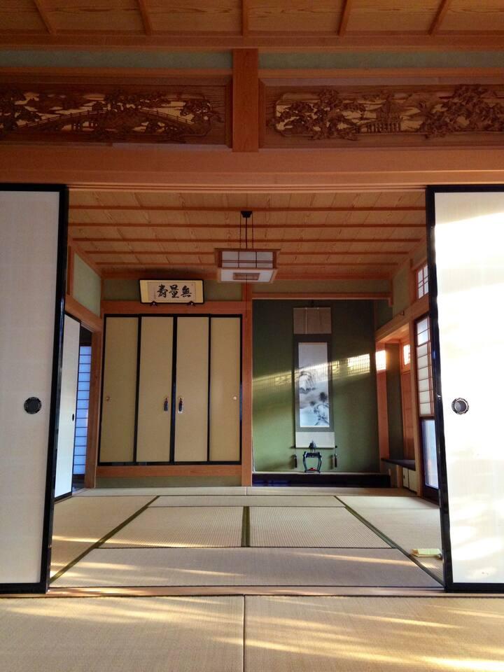 日式乡村体験民宿——喜楽園