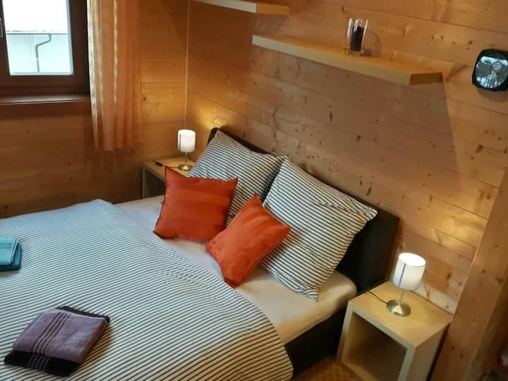Cozy room with a mini kitchen in the Pre-Alps