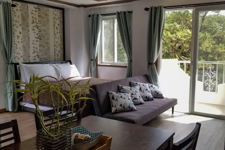 Gab's Cozy Home 2 by Pine Breeze Condotels @Bonbel