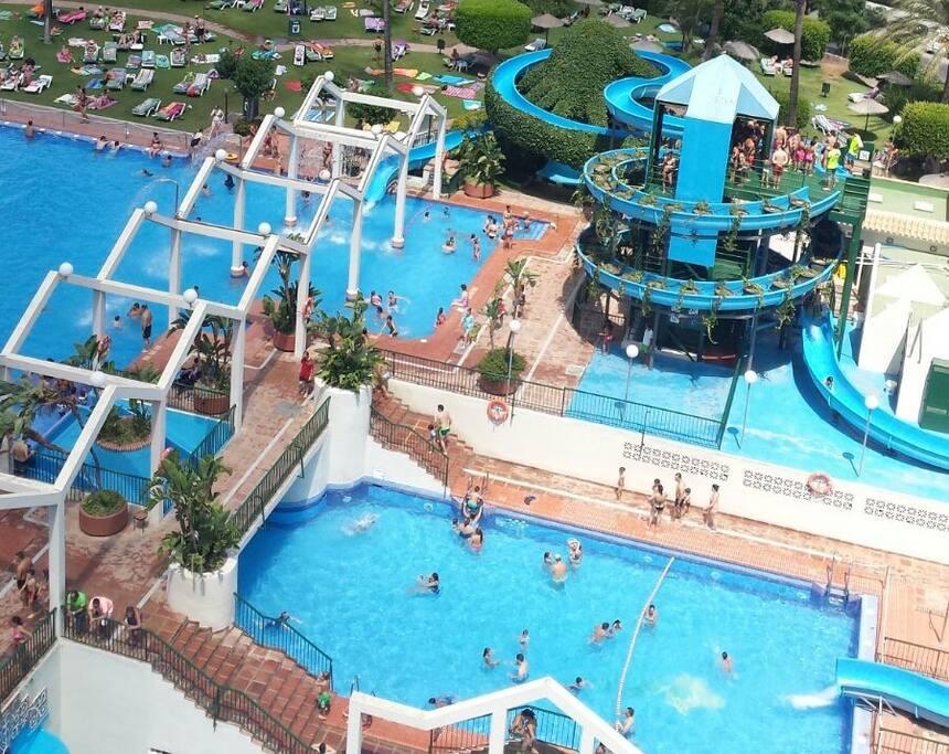 detalle de las piscinas
