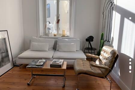 Scandinavian design apartment in Södermalm, SoFo