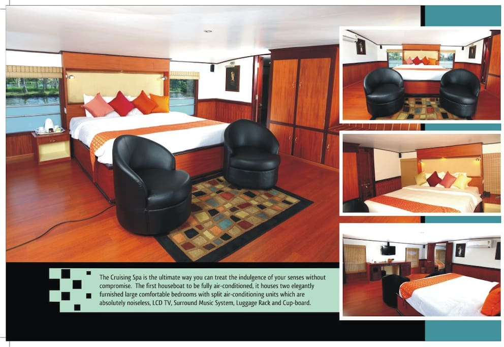 Large Fully equipped bedrooms