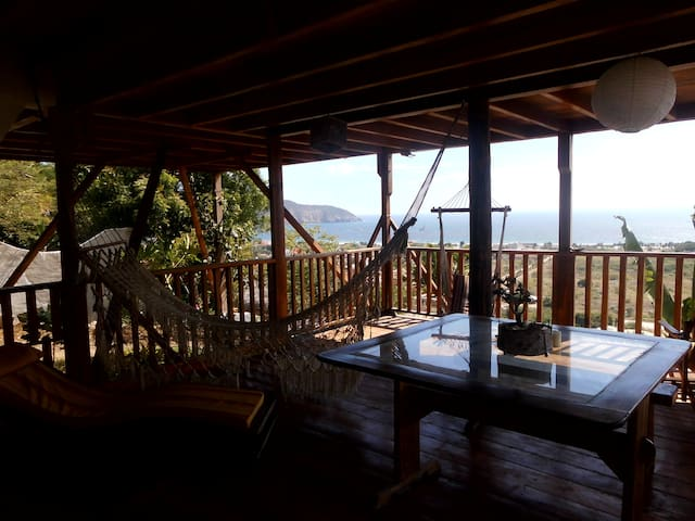 Ocean view 2 bedrooms appartment - Puerto Lopez - Daire