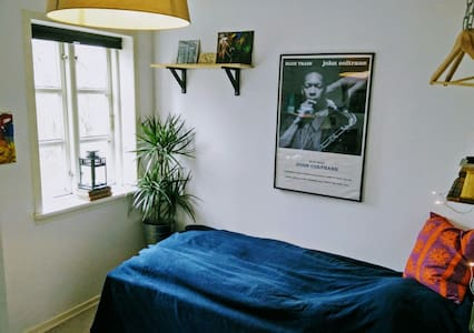 Charming room in Odense C - Odense C - アパート