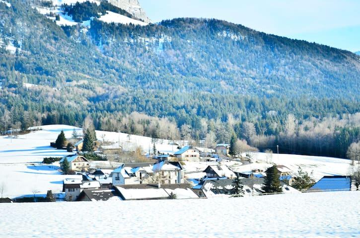 Appartement de village au pied des pistes - Faverges - Leilighet