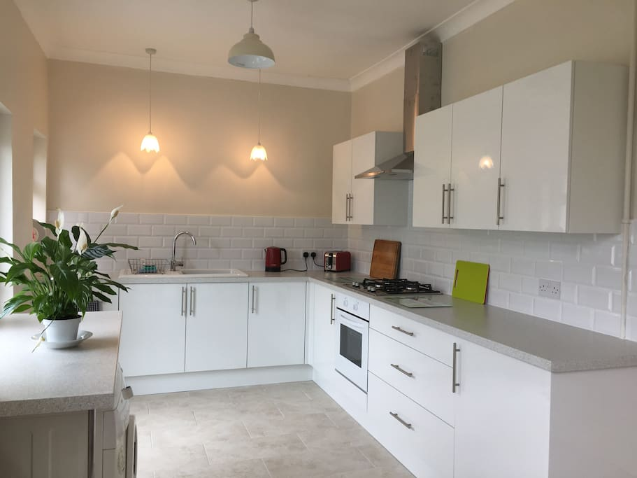 Brand new kitchen fitted May 2018