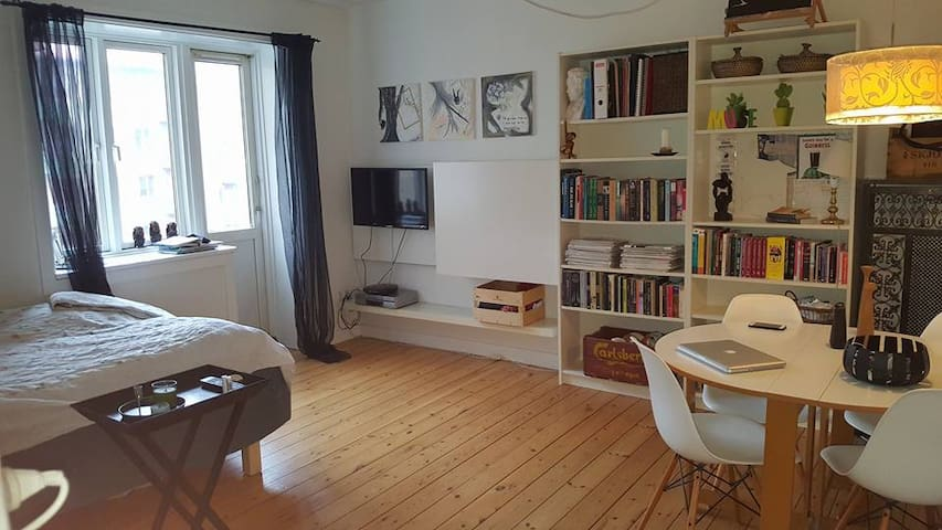 Cosy apartment, quiet neighbourhood, close to city - Copenaghen