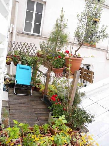 A little terrasse