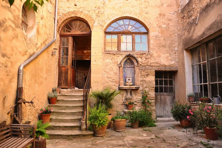 Magical 16th Century Artistic House - Caromb - Talo