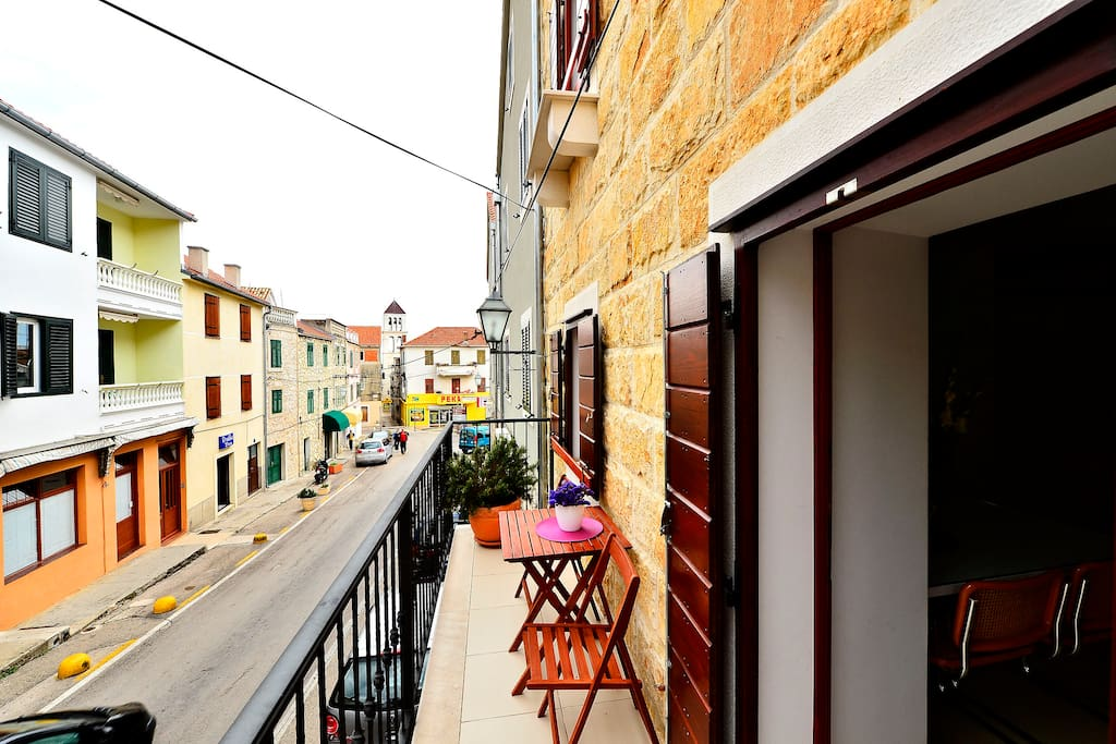 Luxury Villa Bobica Vodice - street view