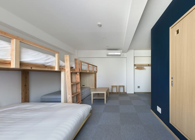 Private room in Susaki for max 6 people!
