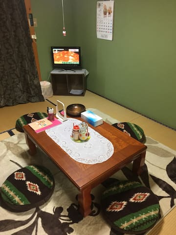 WIFI/T.V. OK./ 6BED / NEAR STATION - Nikko-shi - Appartement