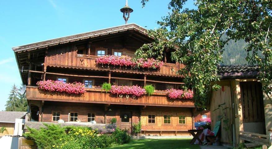 Wörglerhof Hüttenappartement&Sauna - Alpbach - Apartamento
