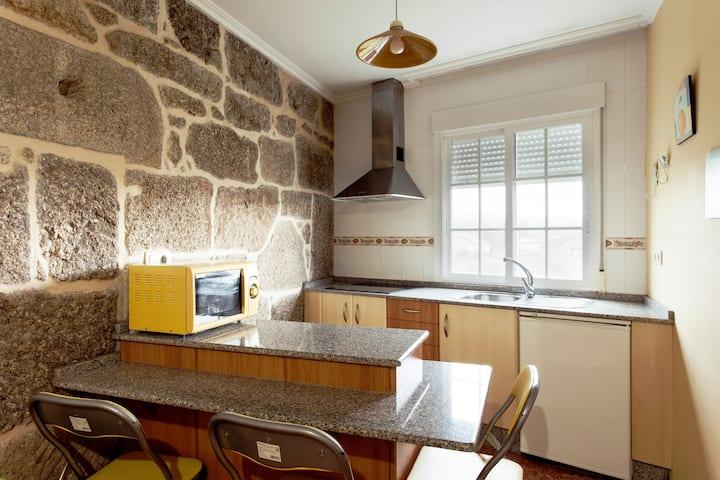 Apartament para 2 a 5km de Sanxenxo
