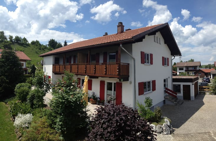 2-room holiday rental apartment, incl. KönigsCard - Nesselwang - Huis