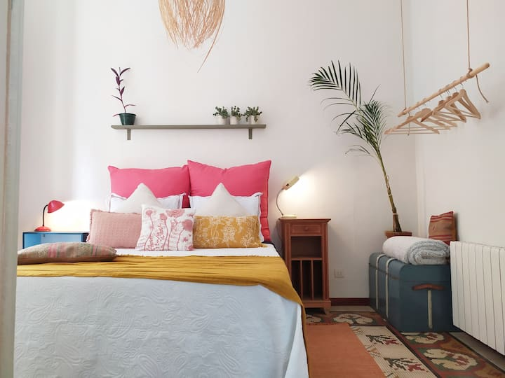 Suite con salón privado en la Rambla