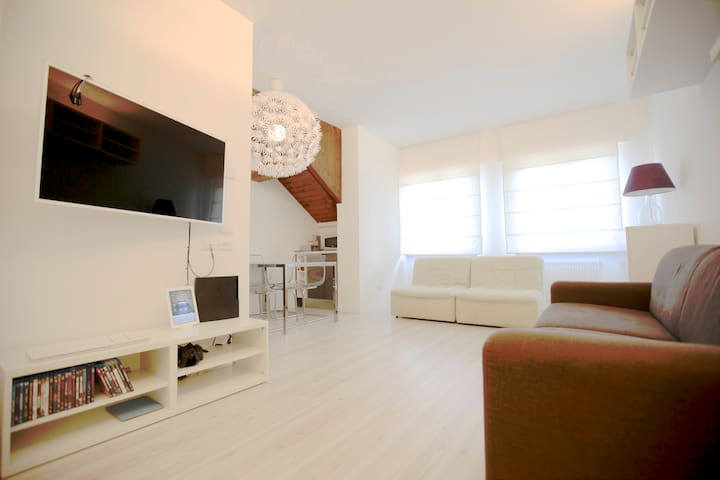 """CASATARVISIO CT2"" Modern studio in nature 4p - Tarvisio - Apartment"
