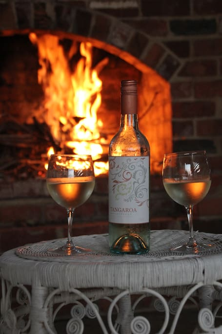 Whether you have been riding all day at Bogong horseback adventures in the Alpine National Park or bird watching, at the end of the day relax by the open fire with a nice wine