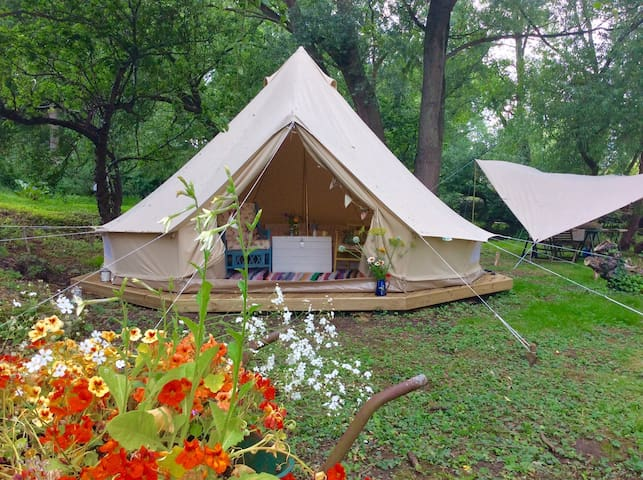 Secluded glamping in Woodbridge - Woodbridge - Tenda de campanya