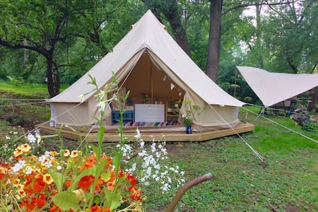 Secluded glamping in Woodbridge - Woodbridge - Zelt