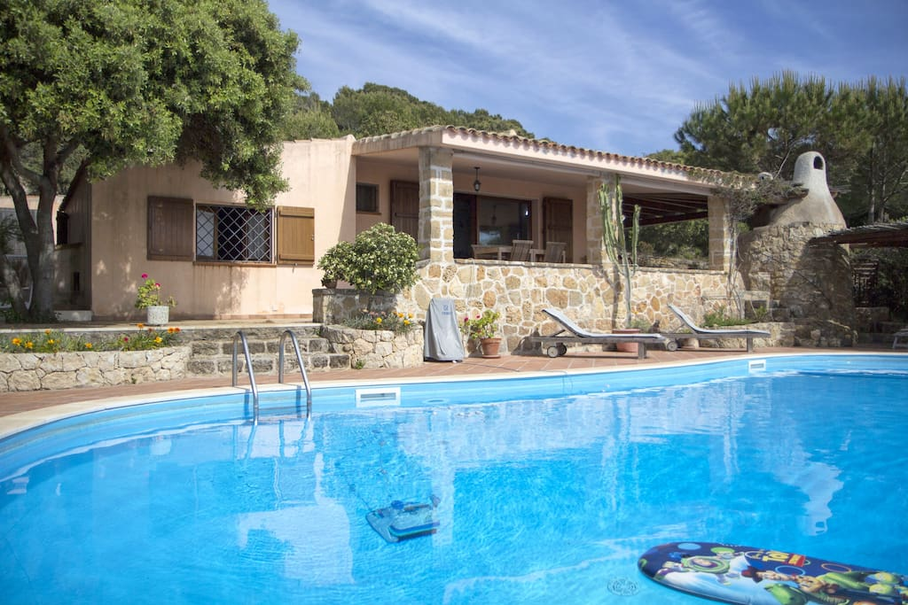 Casa julia country house with pool ville in affitto a for Case affitto alghero privati