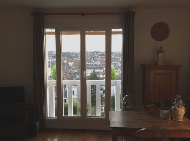 Flat very close to Roissy Airport and Disneyland - Thorigny-sur-Marne - Leilighet