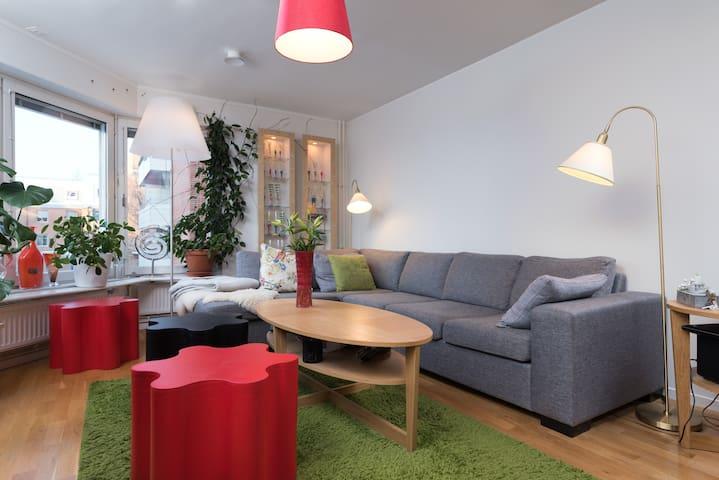 Rum för en eller två mitt i stan - Umeå