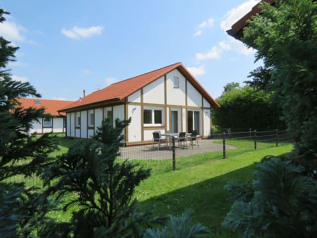 Freistehendes Ferienhaus am Elbdeich nahe Hamburg