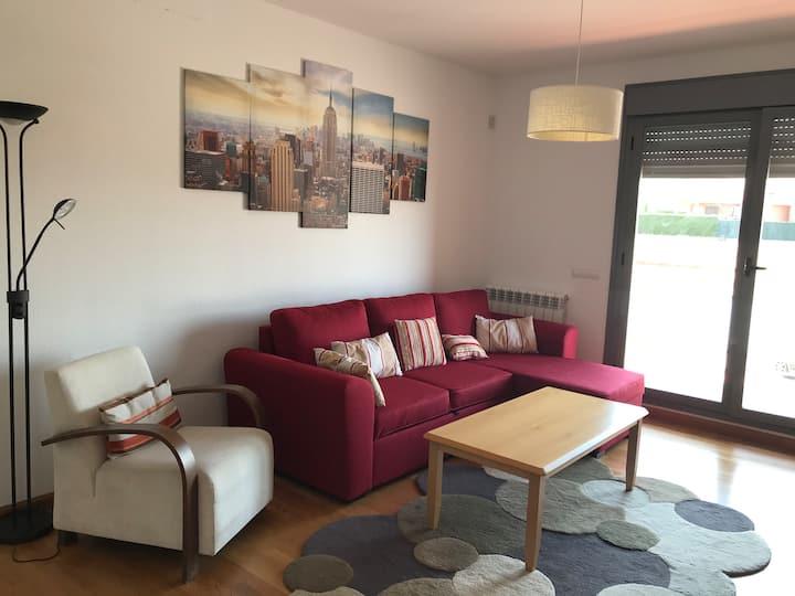 bonito apartamento en cirueña