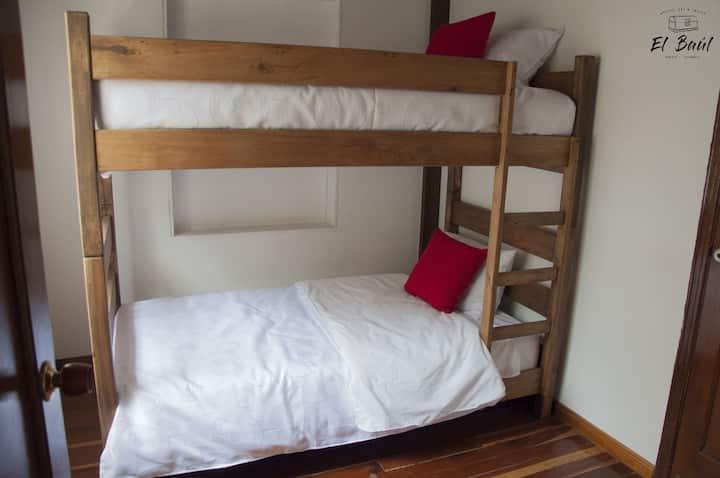 Hostel El Baúl compartida por 4